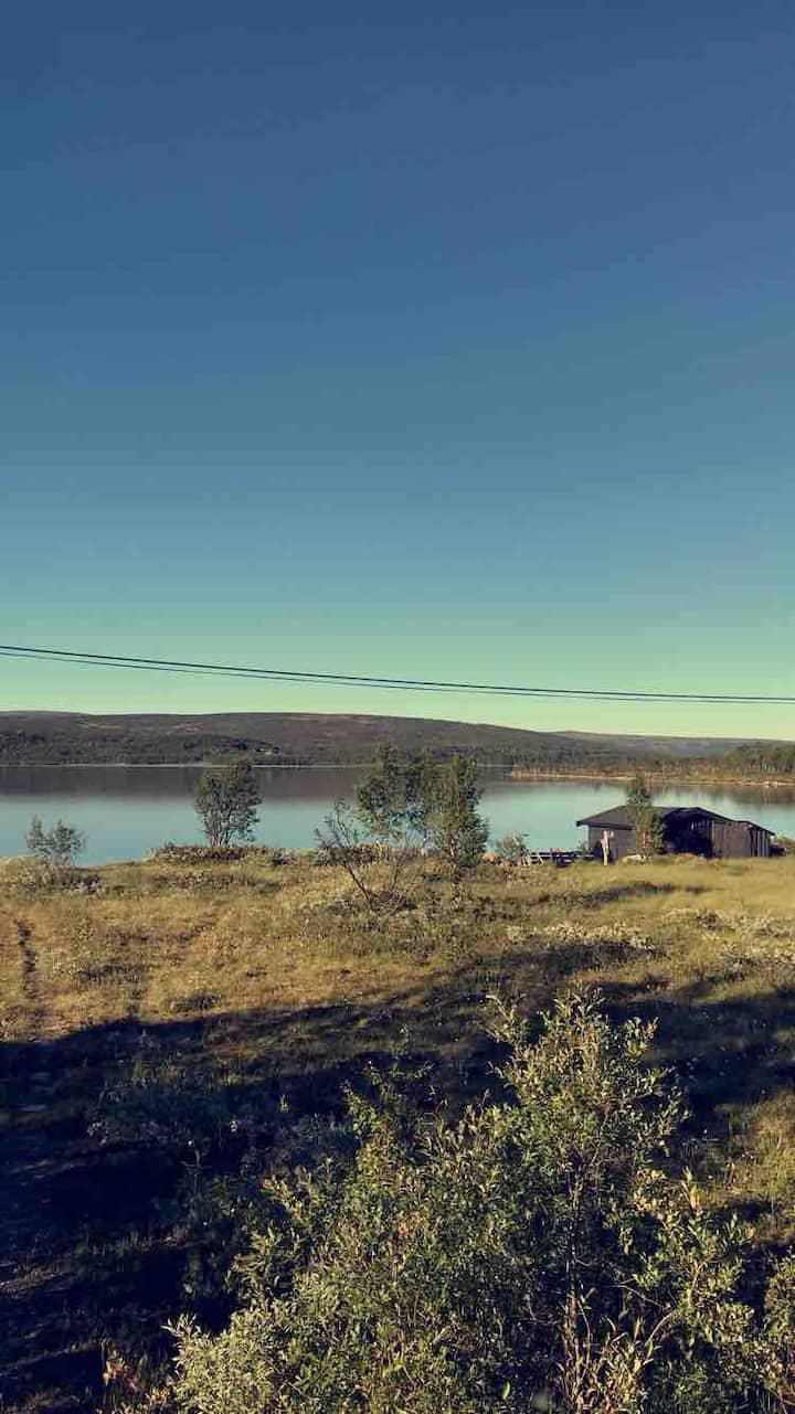 Sjarmerende hytte nær Røros