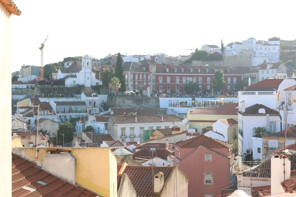 Miradouro Santa Luzia ,apartment view