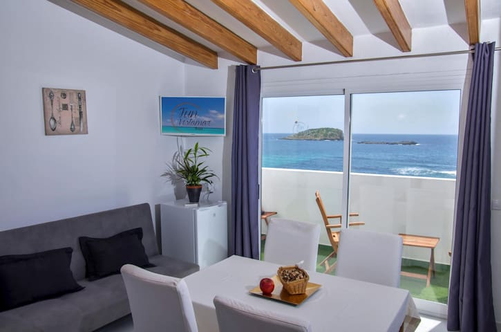Divine Apartment Sea View At Playa Es Cana