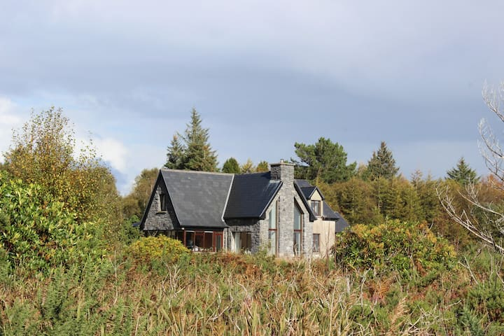 Bog Bay House on the shores of Lough Corrib