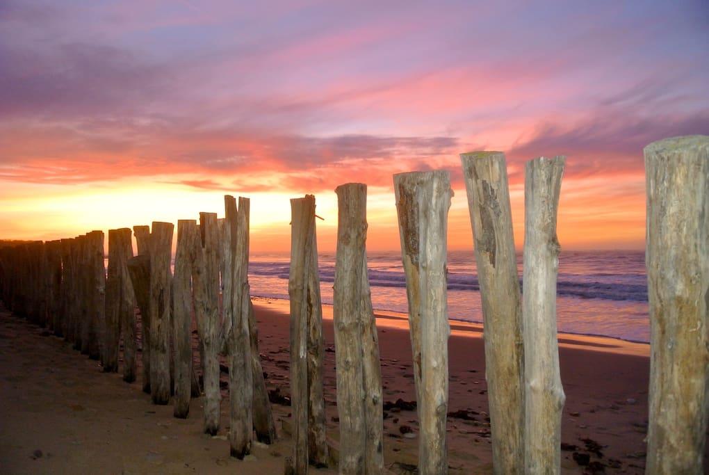 IO coucher de soleil