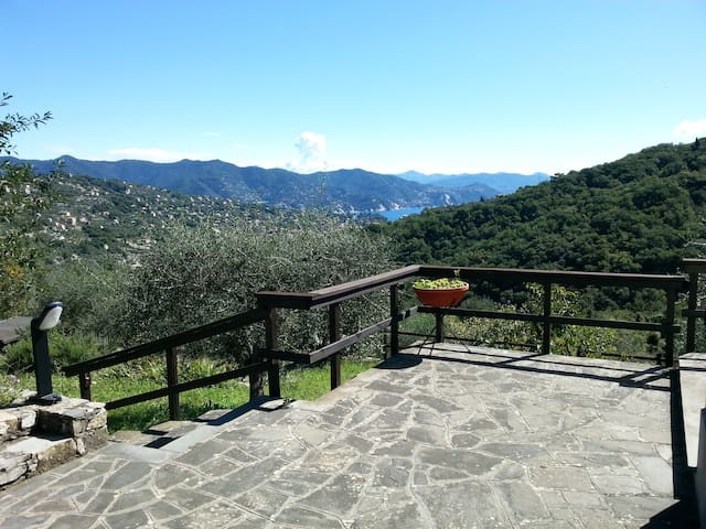Sea-view villa on Portofino mount - San Lorenzo della Costa