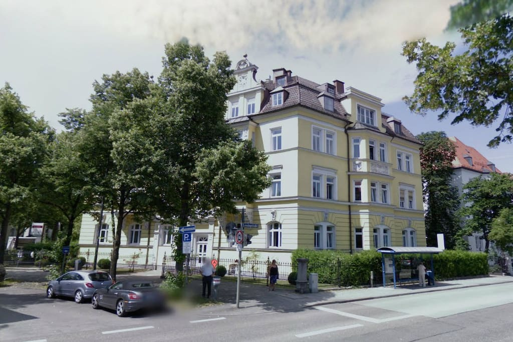 view from the street (google streetview)
