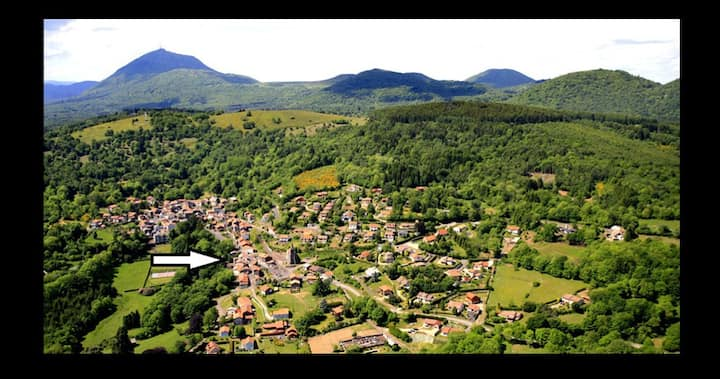 entre le Puy de Dôme et Vulcania