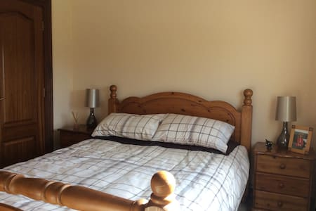 Double room with king size bed - Kirkcaldy - 一軒家