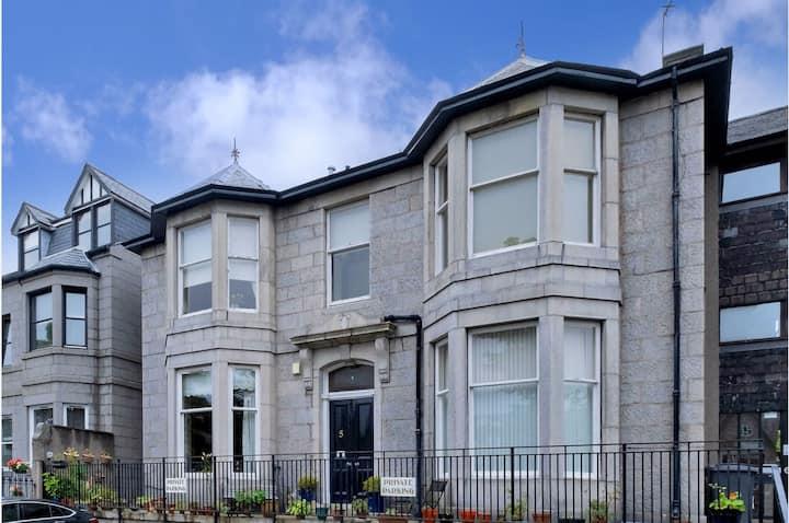 Victorian Granite Building Flat in Ferryhill