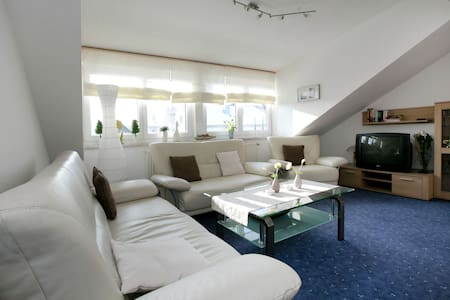 Apartment in Dietmannsried with Roof Terrace, BBQ, Heating