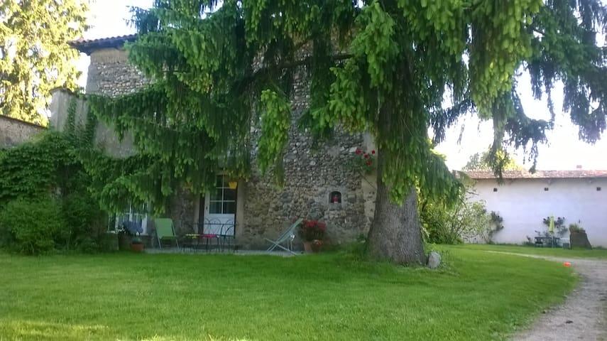 Gîte Maison forte La Mure, Biol en Dauphiné - Biol
