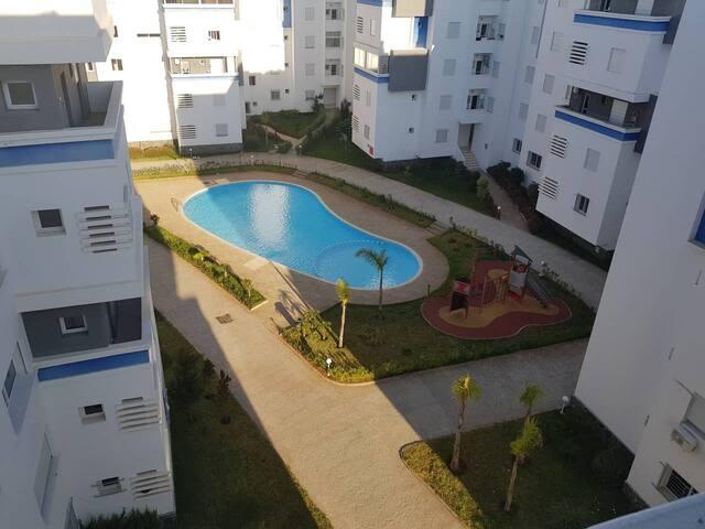 Appartement 65m2 sécurisé proche Rabat/Casablanca