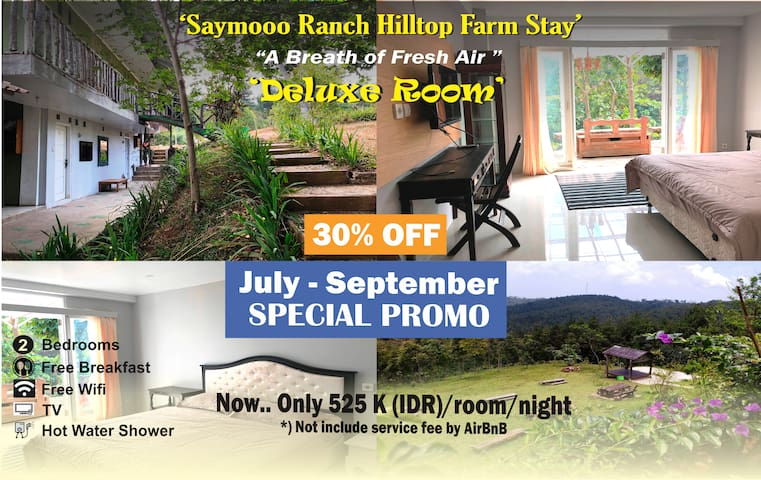 """Deluxe Room at Saymooo Ranch """"Hilltop Farm Stay"""""""