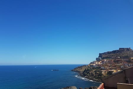Castelsardo,il Castello,il mare.... - Castelsardo - Çatı Katı