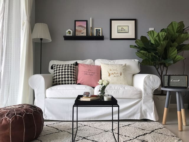 漫漫|苏打 楼下就是太古里/市中心双地铁/摩洛哥风格设计感公寓
