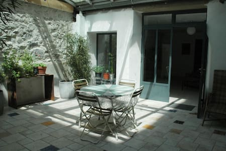 Appartement sur cour, downtown peacefull - Sète