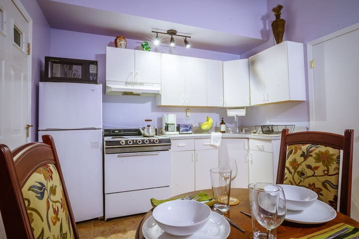 Secluded Sunny Studio. Private Entrance & Patio - Valley Stream - Bungalov