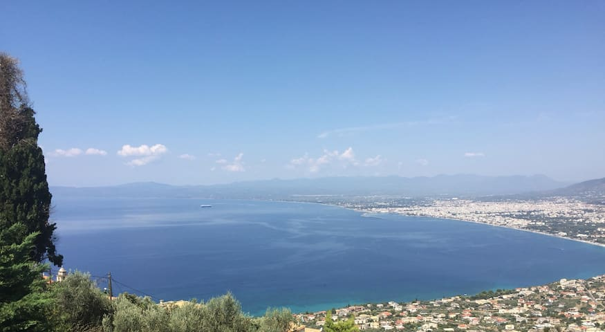 Stunning views apartment in Verga, Kalamata