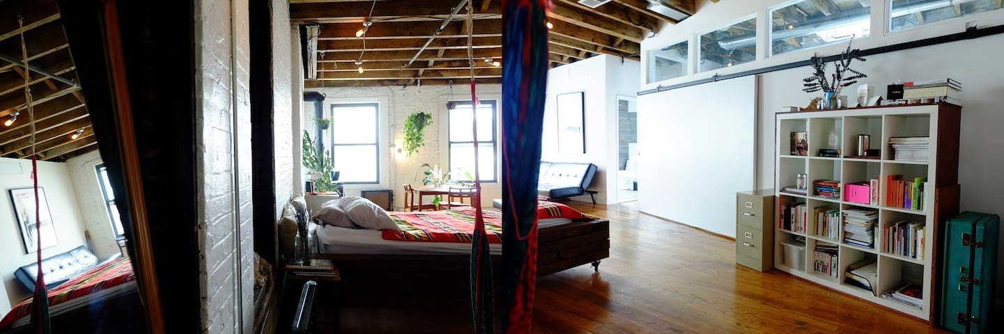Unique sunny loft in Manhattan!