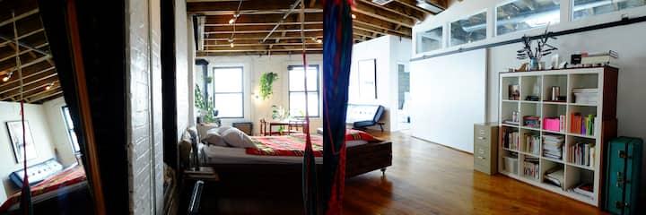 Unique loft in Manhattan-Film/photoshoots only