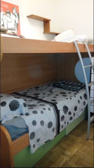 Bunk bed for two