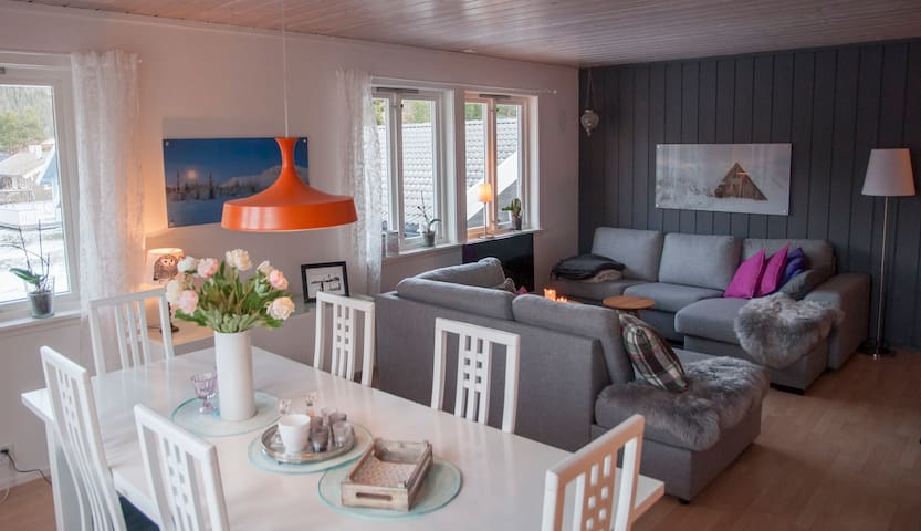 Hemsedal Sentrum // Ski-in Alpint & Langrenn - Hemsedal kommune - Appartement