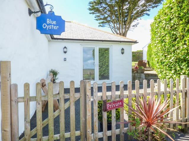 BLUE OYSTER, romantic, with open fire in Mullion, Ref 957395