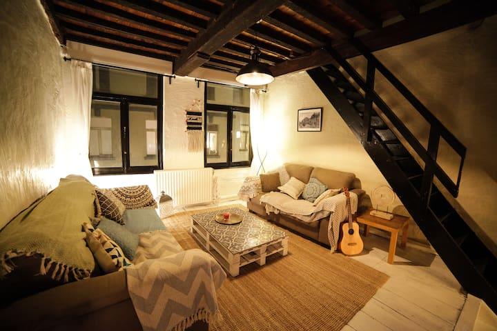 City Center Sablon-Maison cosy 4 rooms-8personnes