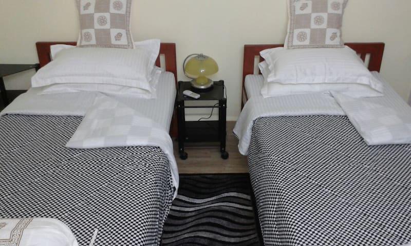 Beds apart