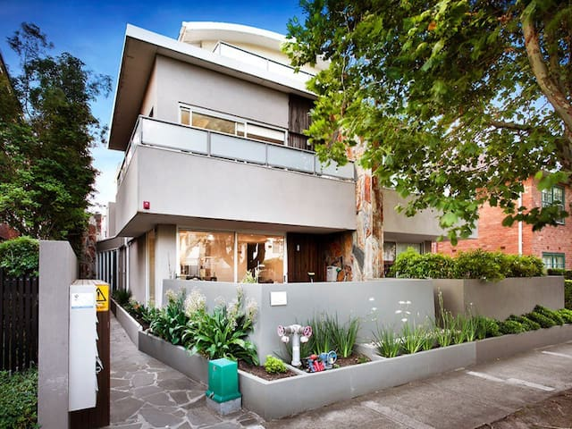 Modern bayside apartment in Elwood - Elwood - Apartmen