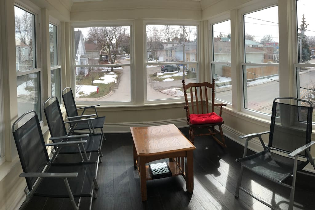 Gorgeous View in the Sunroom