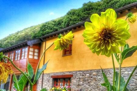 Casa rural con 4 habitaciones