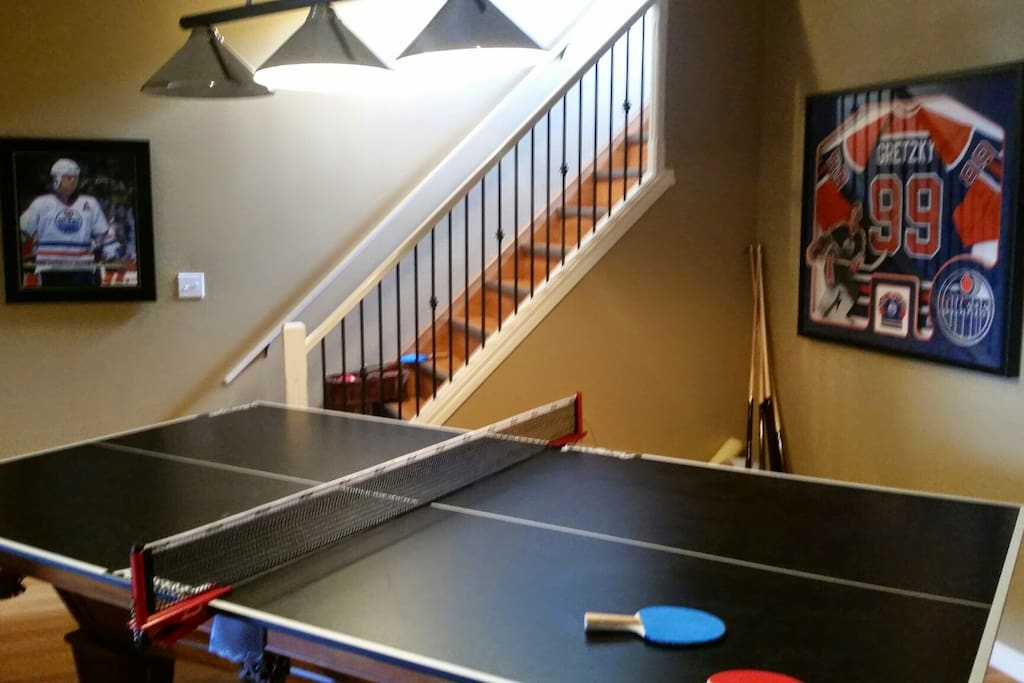 Table Tennis or Pool