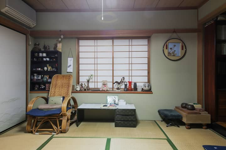The Japanese style room experience available