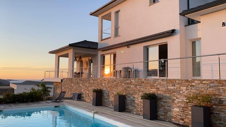 Villa de charme à louer en Corse