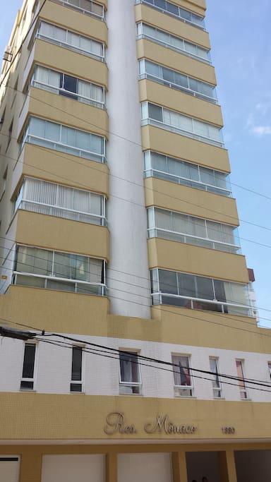 Vista da fachada
