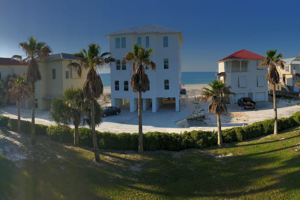 Panoramic view from balcony April 2018