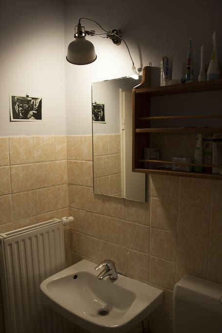bathroom (which is hard to photograph)