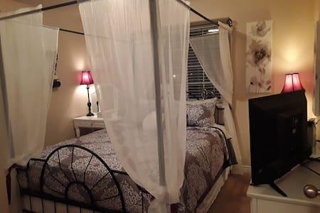 Sheer Elegance Bedroom Suite with private bath