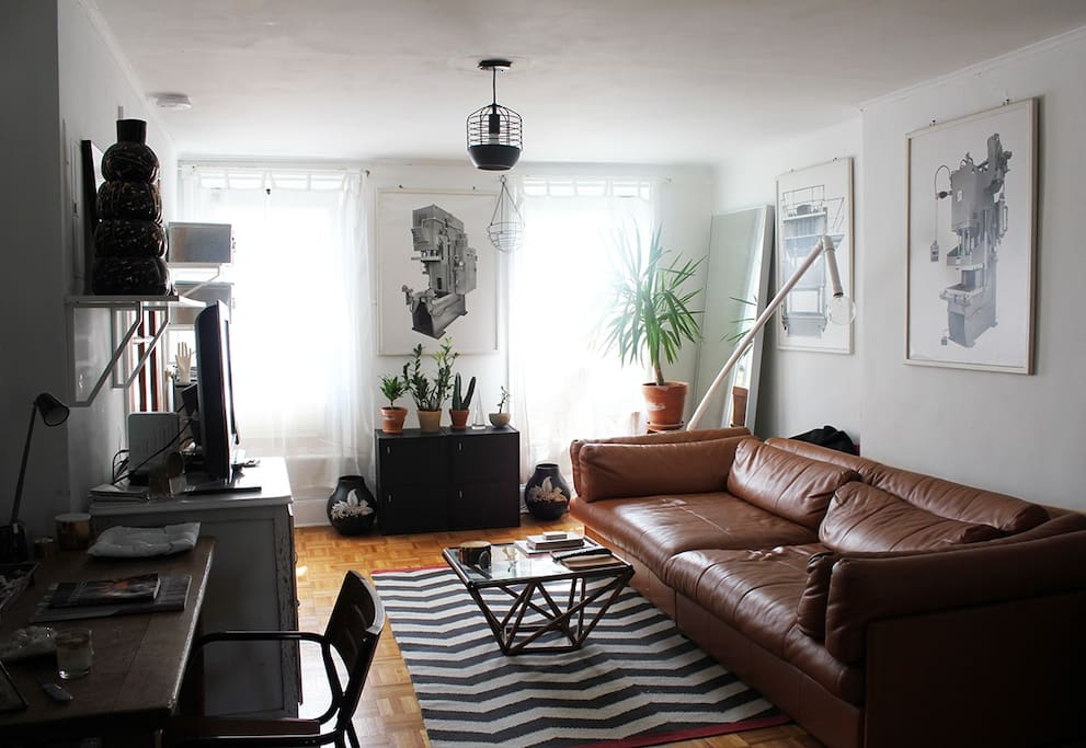 Park Slope haven 15 mins from Soho