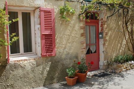 Cozy room, private terrace in Provencal village - Buisson - Casa