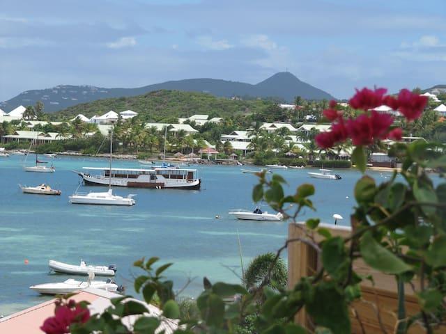 St Barts, Pinel, Orient Bay seaview - Cul-de-Sac - Villa