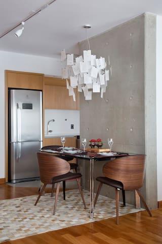Modern Design Apartment in Sao Paulo, Brazil / Apartamento com Design Moderno em São Paulo, Brasil