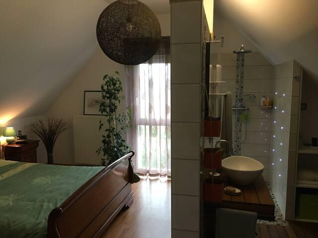 Suite parentale dans maison - Baldersheim - House