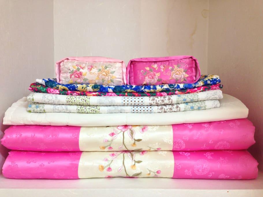 Korean traditional futons