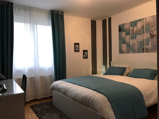 Double room with private bath - Schifflange - Leilighet