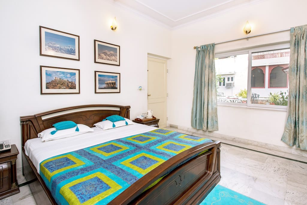 Turquoise Room at Himanshu&Deepti's Home