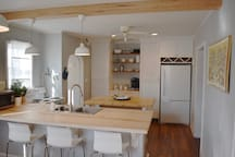 Lots of counter space!