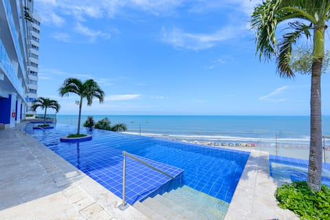 Luxury Frente al Mar, Centro Histórico a 4 minutos