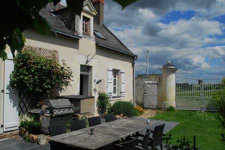 Romantise wijnboerderij in de Anjou - Brissac-Quincé