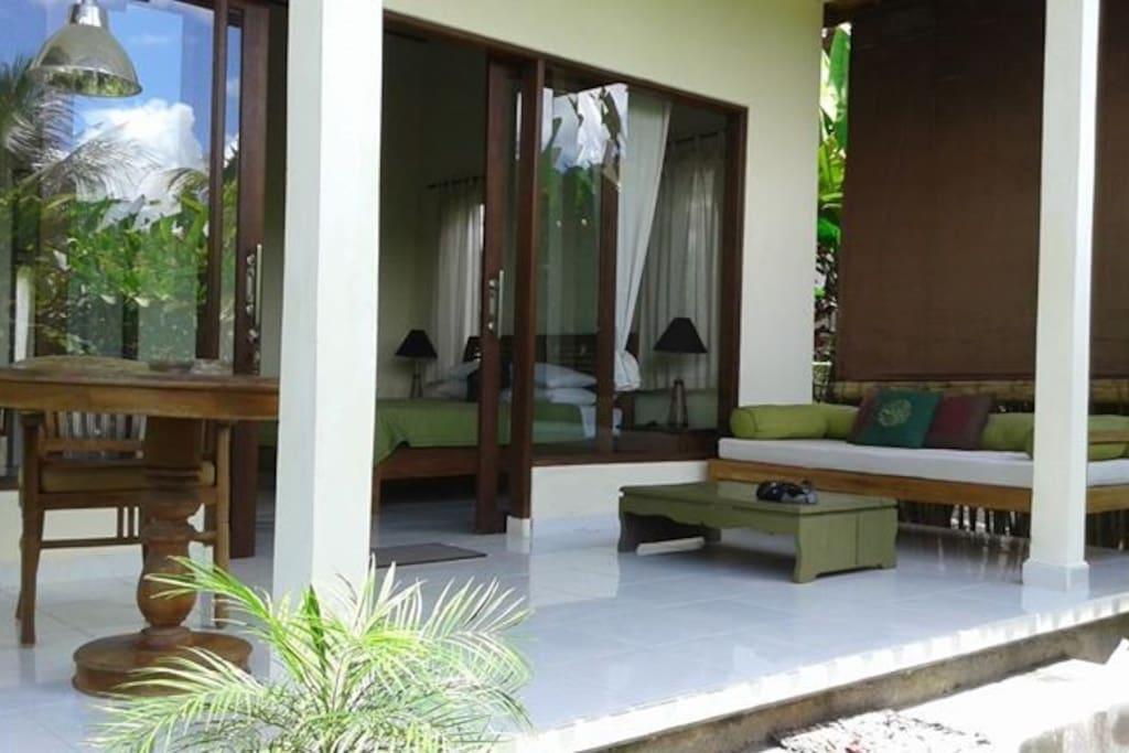Terrace (Balcony) villa1