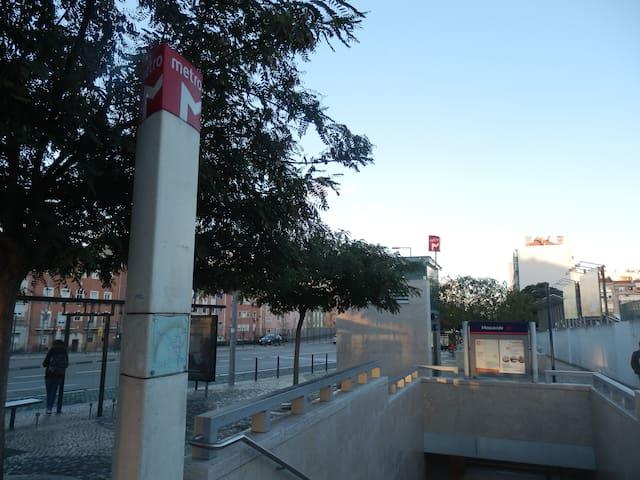 Parque das Nações, near Airport, Metro Station