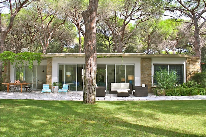Spacious villa 200 m from the beach - Roccamare